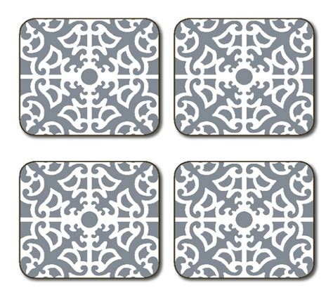 Jason Table Mats by Placemats Jason Parterre Grey Placemats