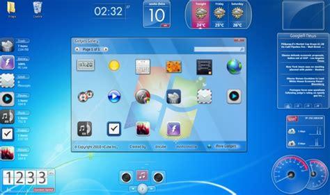 Calendario Area De Trabalho Windows 7 Standalone Gadgets Pack