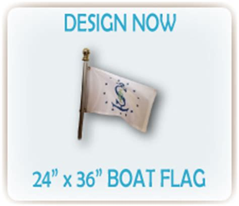 printed boat flags custom boat flags from signs i design