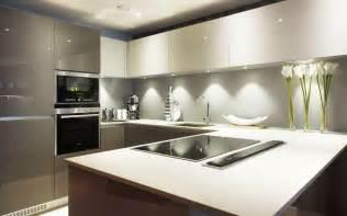 Luxury Kitchen Island Designs Contemporary Grey Kitchen Design Ideas Photos