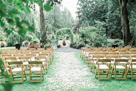 Wedding Aisle Garden by Blissful Garden Wedding Details Out Of A Secret