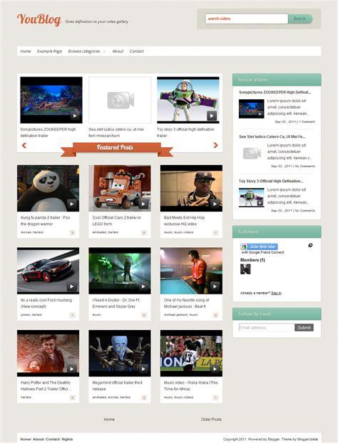 blogger themes for movie site قوالب عرض الفيديوهات احترافية على بلوجر حكمات للمعلوميات