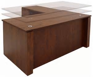 Height Of Office Desk Adjustable Height Executive Office Desk In Cherry