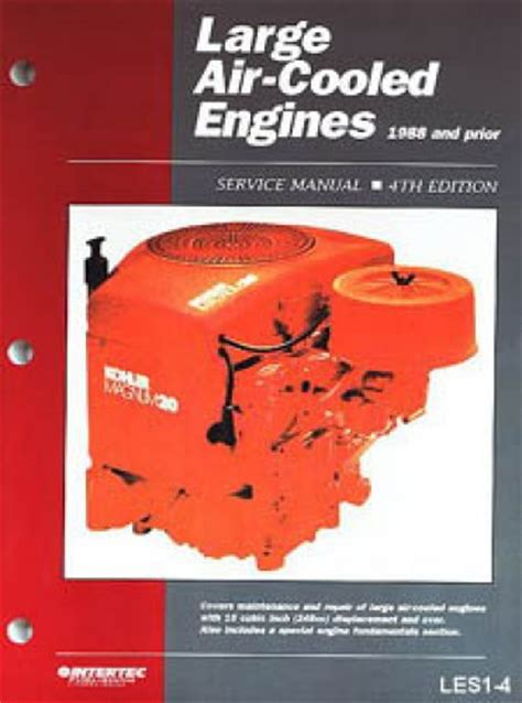 service manual small engine maintenance and repair 1988 large air cooled engine service manual 1988 and prior volume 1