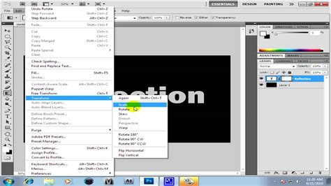 how to reactivate photoshop cs4 if the license is expired how to make a mirror effect in adobe photoshop cs3 cs4