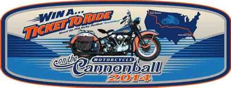 Golden 23 Sweepstakes - 2014 cannonball golden ticket sweepstakes mc events motorcycle classics