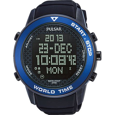 pulsar pq2029x1 s modern digital sports alarm