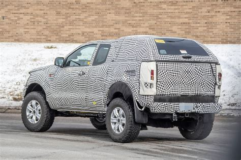ford courier compact pickup truck spied