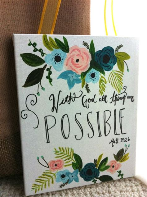 quote roundup a little something different by sandy hall mac hand painted inspirational bible verse quote canvas by