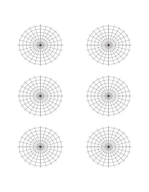 How To Make A Paper Polar - polar graph paper sle free