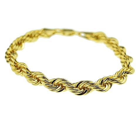 rope chain bracelet 9 quot x 8mm bracelets