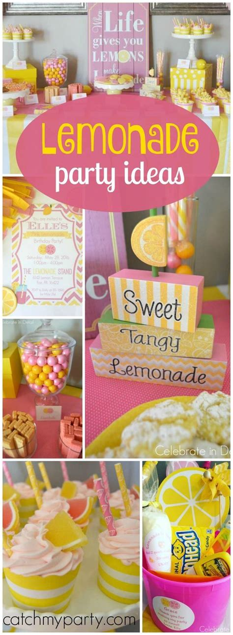 themes in the girl who can pink lemonade birthday party birthday quot pink lemonade