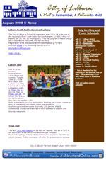 political newsletter template my newsletter builder exles for government politics