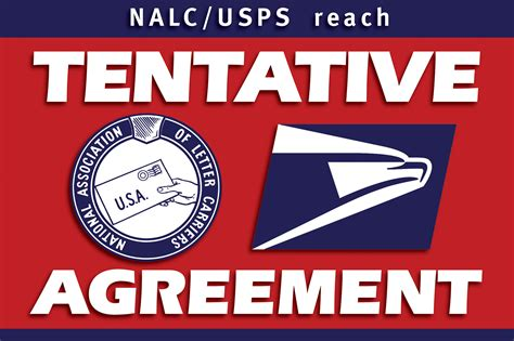 Nalc Mba by Tentative National Agreement Is Reached National