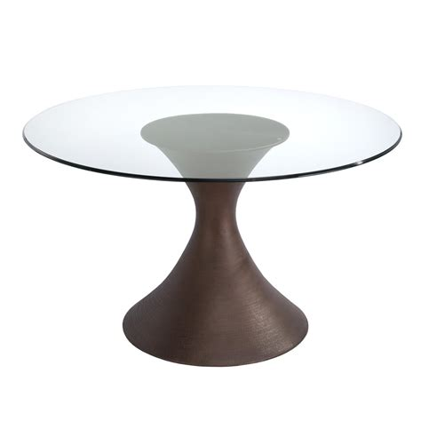 Casablanca Round Glass Dining Table   Dining Tables