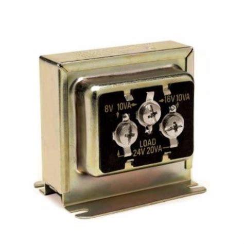 doorbell transformer location iq america multi voltage wired doorbell transformer 245806