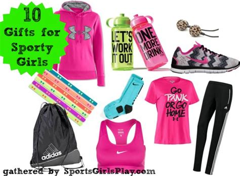 10 gifts any sporty girl will love