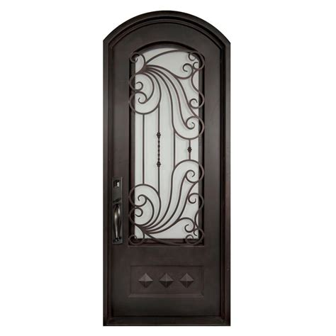 home depot wrought iron paint iron doors unlimited 40 in x 98 in mara marea classic 3