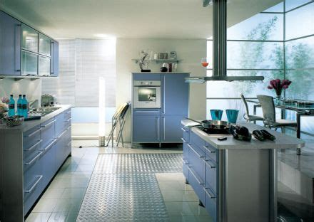 kitchen decor idea blue kitchen cabinets design