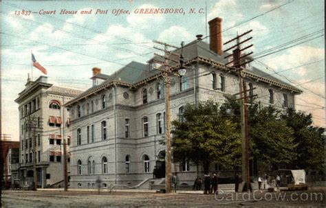 Greensboro Court Search Court House And Post Office Greensboro Nc