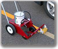 parking lot painting machine rollmaster 1000 parking lot striping machine