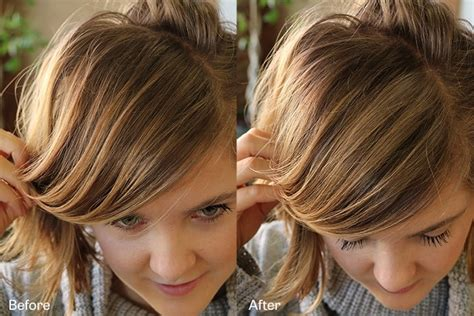 high lighted hair with gray roots how to create highlights with color wow root cover up