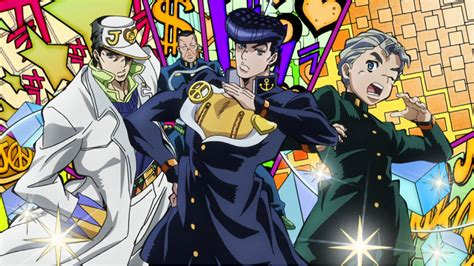 anime jojo jojo s adventure is unbreakable