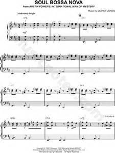 theme song quincy quincy jones quot soul bossa nova quot sheet music easy piano
