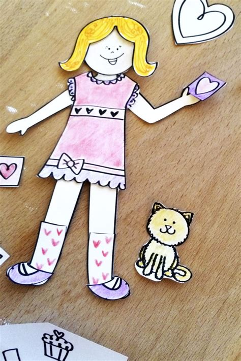 jen arnold decorating style love paper doll printable