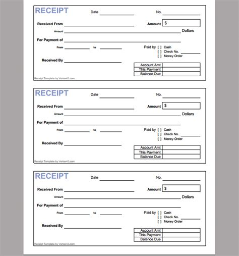 online receipt template of online receipt sle templates
