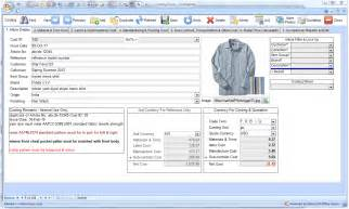Cost Sheet Format For Garment Manufacturing Company by Excel Format In Garments Costing Invoice Software And