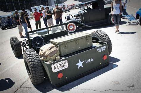 Jeep Flat Rod Rat Rod Flat Fender Jeep Cool Adventure Rider