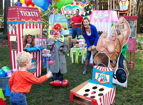 backyard carnival birthday party ideas outdoor carnival party ideas birthday express