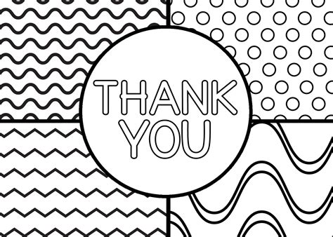 thank you coloring pages for kids collection printable coloring