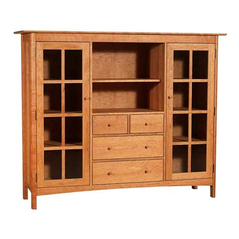 shaker office furniture shaker bookcase home office center cabinet solid wood