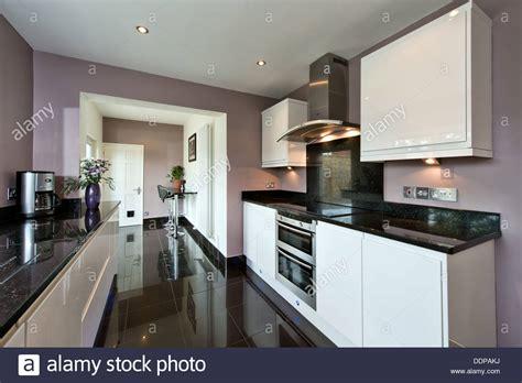 modern designer kitchens an installed clean modern designer kitchen in gloss white