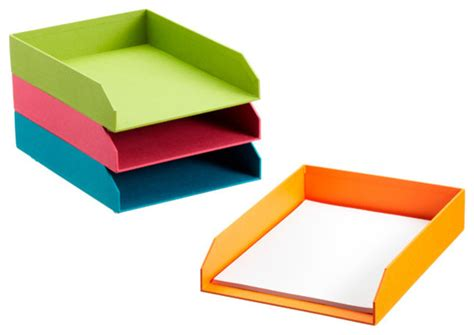 Desk Letter Trays by Bright Stockholm Stacking Letter Tray