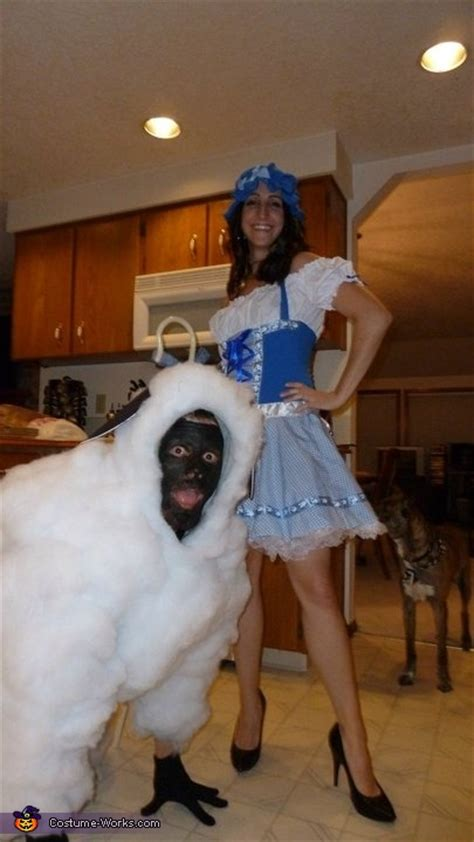 bo peep   sheep couple halloween costume