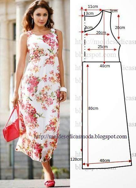 vestido facil de hacer moldes de moda para la medida vestidos y ropa de dama