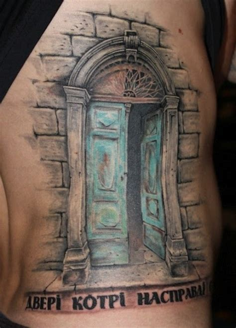 the doors tattoo door way cool tattoos