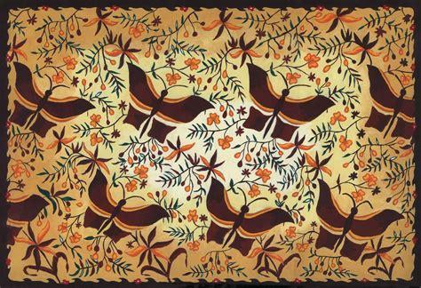 design lukisan batik lovely indonesia dari mana asal batik