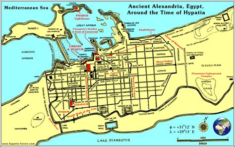 map of alexandria the sith library of new alexandria