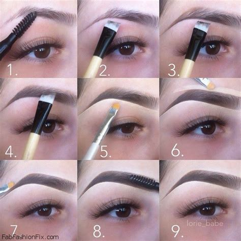 Eyebrow Kit Makeover how to shape eyebrows with eyebrow kit eyebrows beautytip makeup eyebrows