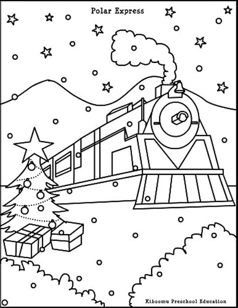 Coloring Pages Of Quot Polar Train Express Quot Polar Express Coloring Pages