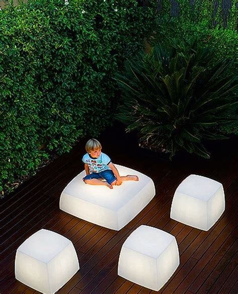 Unique Landscape Lighting Contemporary And Unique Light Seats Design For Outdoor And Indoor Lighting Lite Cube And Light