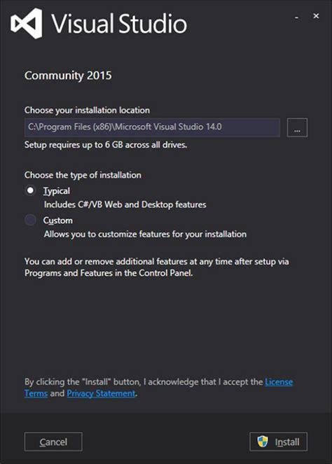 visual studio installer tutorial 2013 asp net wp environment setup