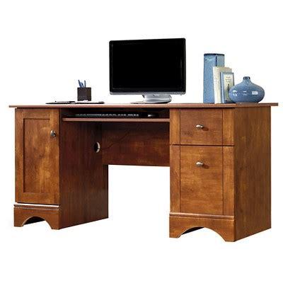 Computer Desk Maple Computer Desk Brushed Maple Sauder Target