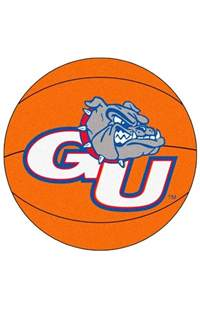 Round Orange Rugs Fanmats Basketball Gonzaga Basketball Rug Kids Rugs