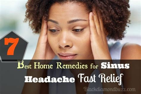 7 best home remedies for sinus headache fast relief