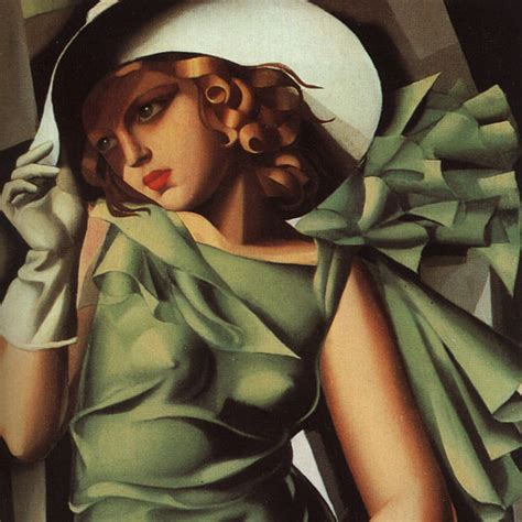 tamara de lempicka art woman art deco painter